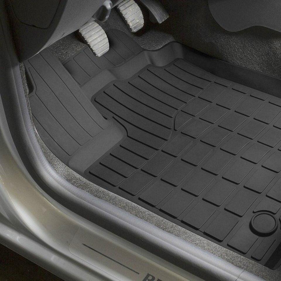 Para Renault Sandero 2014-2018 esteiras de borracha do assoalho para saloon 5 pçs/set Rivalizar Com 64703001