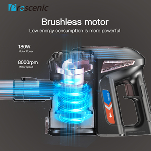 Image 2 - Proscenic p8 Plus Cordless Vacuum Cleaner 15000 Pa Powerful Suction Bagless Handheld Vacuum Cleaner