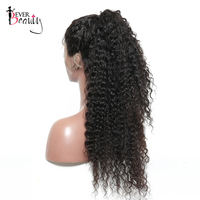 180% Density Pre Plucked Full Lace Human Hair Wigs For Women Natural Black Color Brazilian Loose Curly Wig Remy Hair Ever Beauty