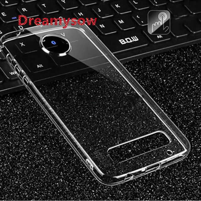 watch 2db1b fbe01 US $0.56 33% OFF Back Clear Case For Motorola MOTO G5 Plus Z X G4 PLAY G2  G3 E4 plus X4 G5S PLUS C Plus Soft TPU Ultra thin Case Cover -in Fitted ...