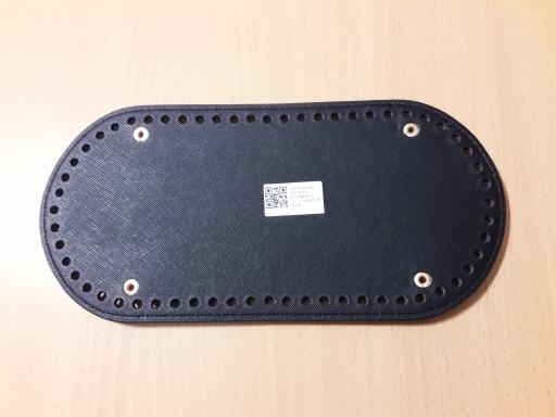 Hoge kwaliteit ovale lange bodem voor breien zak PU lederen 60 gaten vrouwen tassen handgemaakte diy accessoires photo review