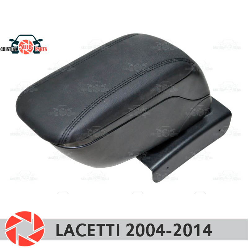 цена на For Chevrolet Lacetti 2004-2014 car armrest central console leather storage box ashtray accessories car styling