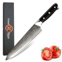 GRANDSHARP 8 Inch Professional Chef Knife 67 Layers Japanese Damascus Stainless Steel VG 10 Damascus Kitchen knives cooking tool