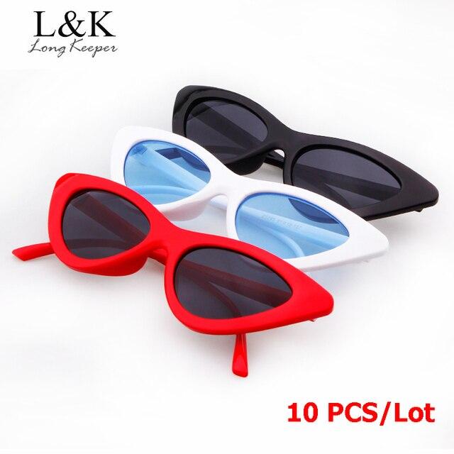 0ae083d5cf Long Keeper 2019 Newest Women Men Sun Glasses Triangle Small Cat Eye  Sunglasses Sexy Eyewears Wholesale