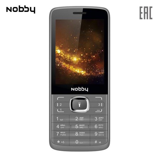 Мобильный телефон Nobby 330T , 2 симкарты, ThreadX, камера, фотокамера, цветной дисплей