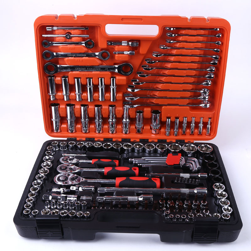 150pcs Drive Socket Set CRV Steel Complete Mechanic Tools Set for Auto Repair