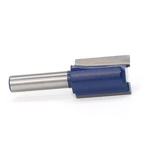 Image 4 - 1 pièce 8mm tige haute qualité droite/Dado routeur jeu de forets diamètre bois outil de coupe