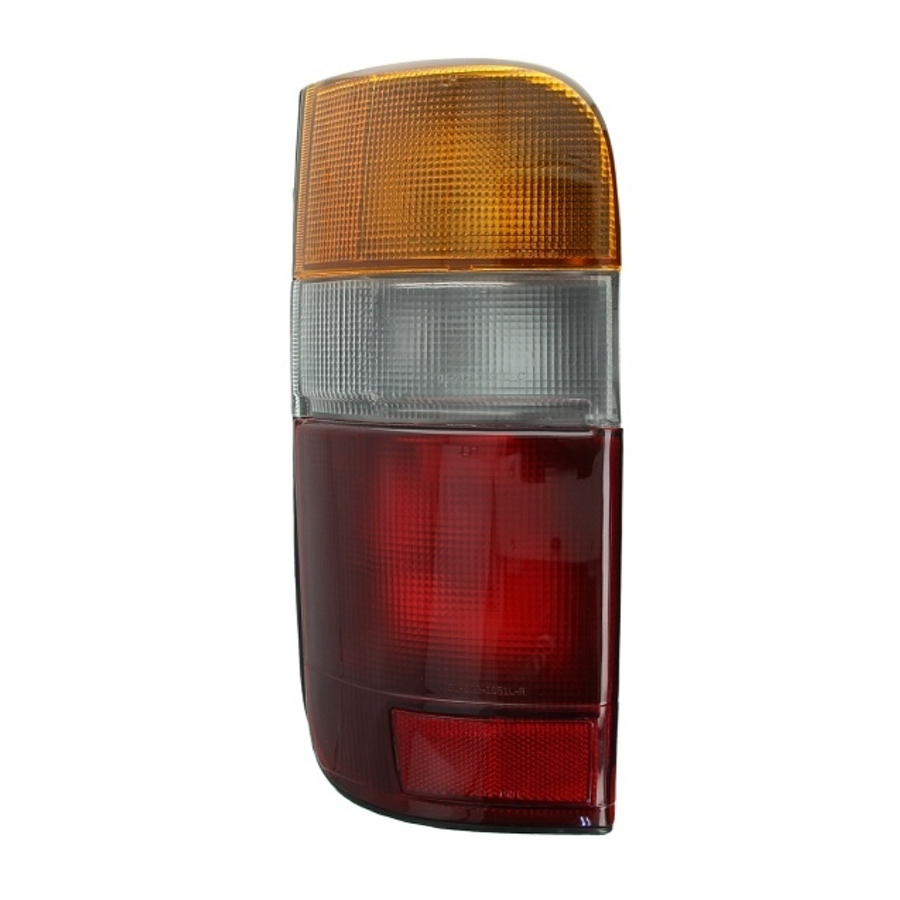 Tail Light Left fits TOYOTA HIACE 1989 1990 1991 1992 1993 1994 1995 1996 1997 1998 1999 2000 2001 2002 2003 2004 2005 Rear Lamp
