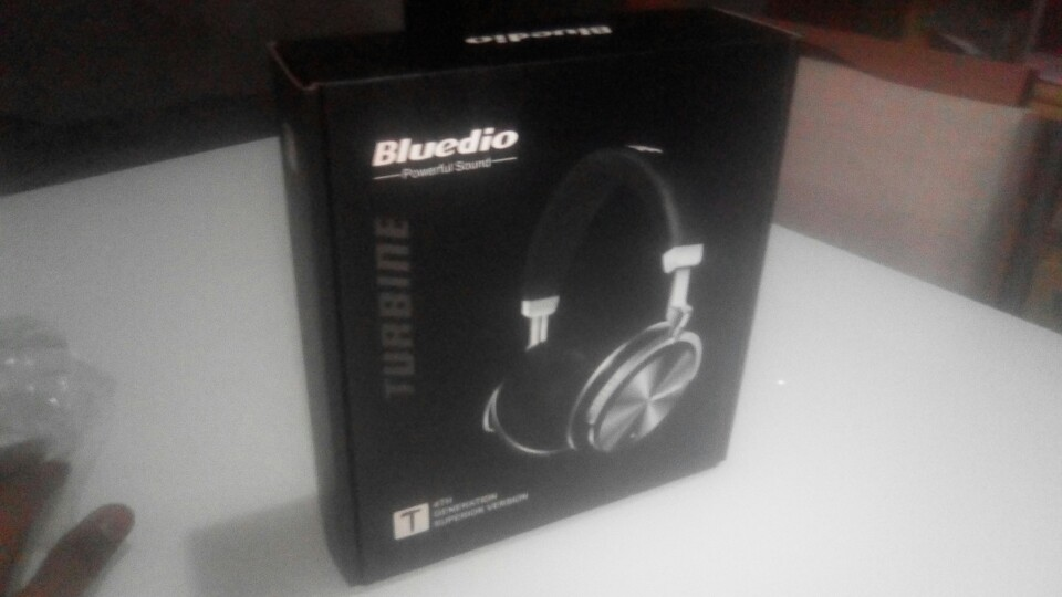 Original Bluedio T4S bluetooth headphones with microphone ANC active noise cancelling wireless headset-in Phone Earphones & Headphones from Consumer Electronics on AliExpress
