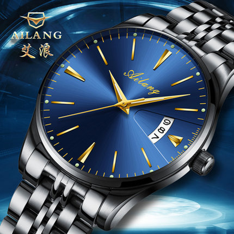 AILANG Full Calendar Tourbillon Automatic Date Mechanical Mens Watches Top Brand Luxury Wrist Watch erkek kol saati Montre Homme mg orkina full calendar tourbillon auto mechanical mens watches top brand luxury wrist watch erkek kol saati montre homme