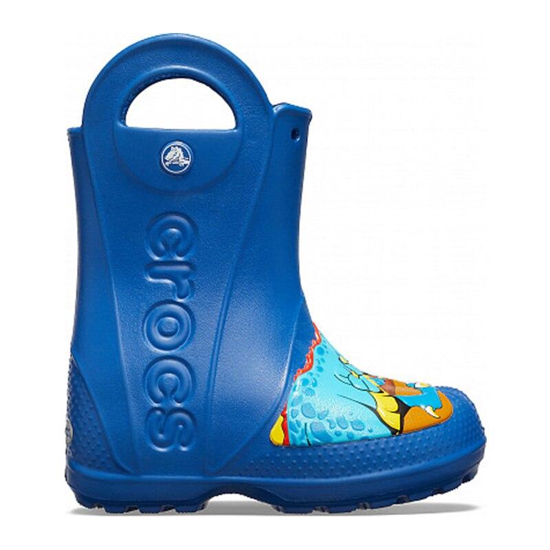 CROCS CrocsFL Dino Rain Boot K KIDS or boys/for girls, children, kids TmallFS umbrellas modis m182a00403 windproof parasol sun rain folding outdoor rain protection for girls tmallfs