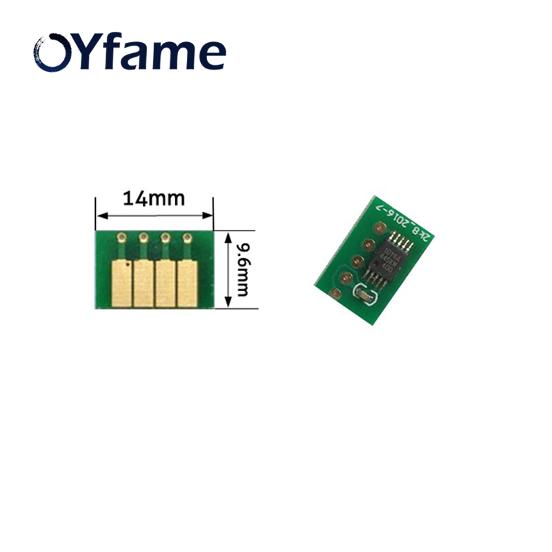 OYfame For HP72 For HP72 Ink Cartridge ARC <font><b>Chips</b></font> for <font><b>HP</b></font> Pro officejet T770 T1100 T1120 T1200 Printer Auto Reset Cartridge <font><b>Chips</b></font> image