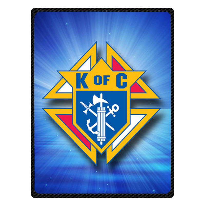 Comfortable Knights of Columbus Personalized Blanket Sofa Bed Throw Blanket Kid Adult Warm Blanket Children Quilt