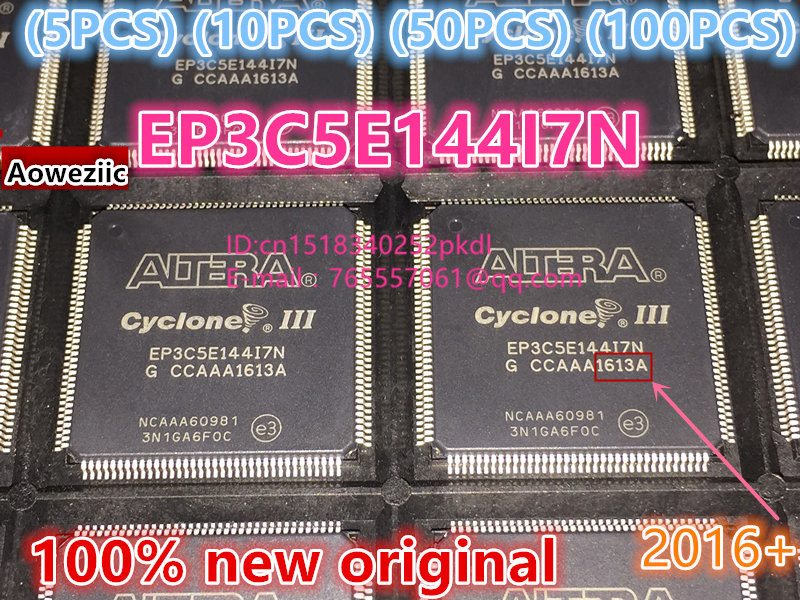 (5 PCS) (10 PCS) (50 PCS) (100 PCS)  2016+ 100% New original EP3C5E EP3C5E144 EP3C5E144I7N LQFP144 industrial grade IC chip new tms320f28234pgfa 176 lqfp ti brand new original orders are welcome