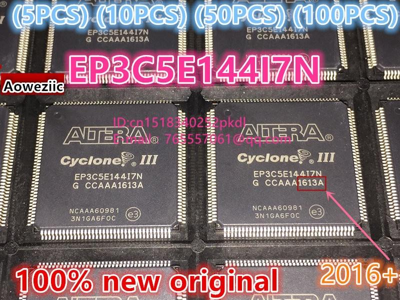 (5 PCS) (10 PCS) (50 PCS) (100 PCS)  2016+ 100% New original EP3C5E EP3C5E144 EP3C5E144I7N LQFP144 industrial grade IC chip 2016 100