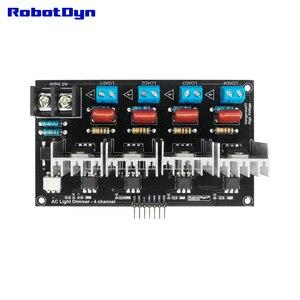 Image 4 - AC Light Dimmer Module, 4 Channel, 3.3V/5V logic, AC 50/60hz, 220V/110V