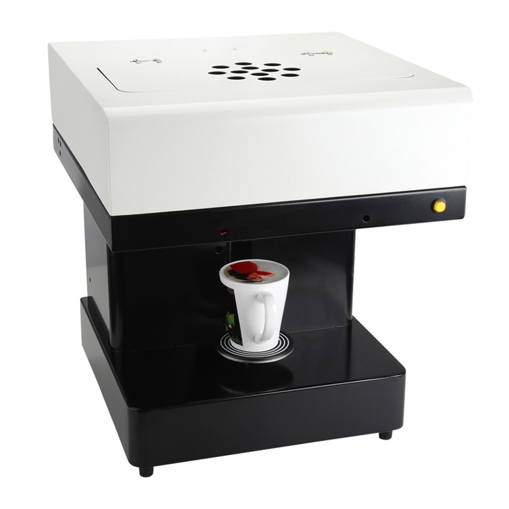 Selfies Coffee Printer One Cup Food Inkjet Printer DIY Art Printer For Cake Cappuccino Biscuits Flower