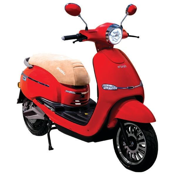 Ebroh Spuma Li, Moto Electrica, Scooter Electrico, 3000 W, LED, Movilidad Urbana, Varios Colores
