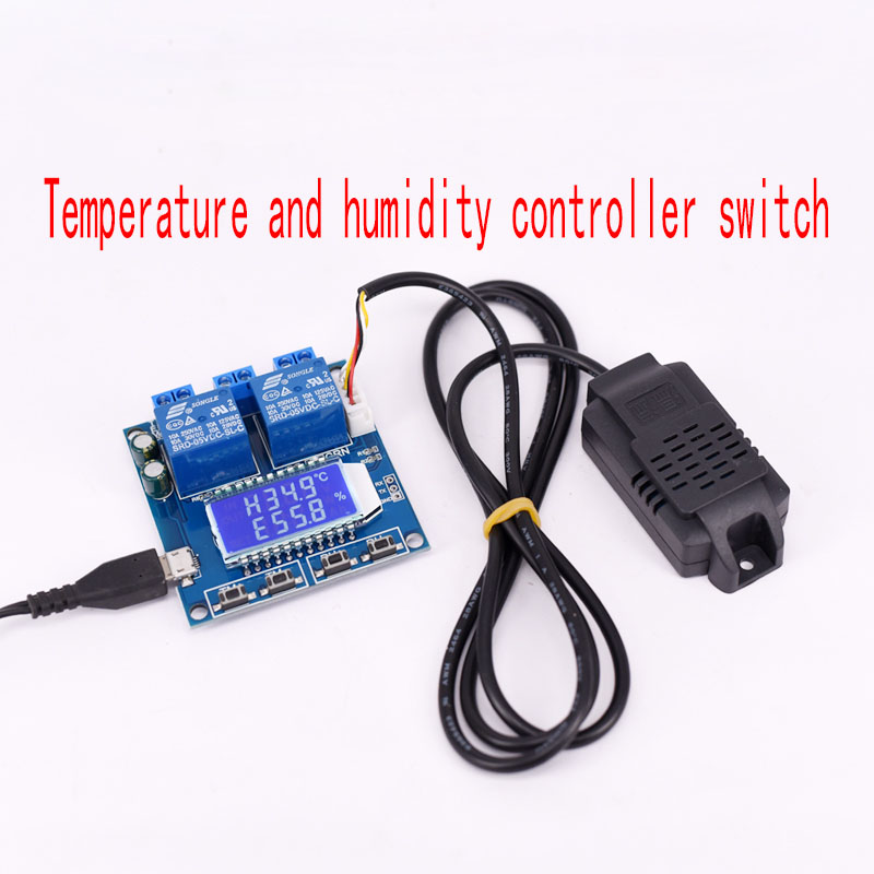 Temperature and humidity control module switch, automatic constant temperature instrument panel