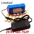 HK LiitoKala 24В 4Ah 7S2P 18650 литий-ионный аккумулятор 29 4 V 4000mah Электрический велосипед мопед/Электрический + 2A зарядное устройство