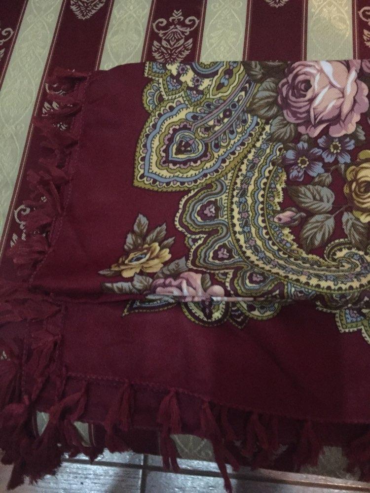 12603fb4cf8 Russia new hot sell Wquare Fashion decorative Scarf handmade tassel flower  design Scarves Blanket Shawl Handkerchief for Women