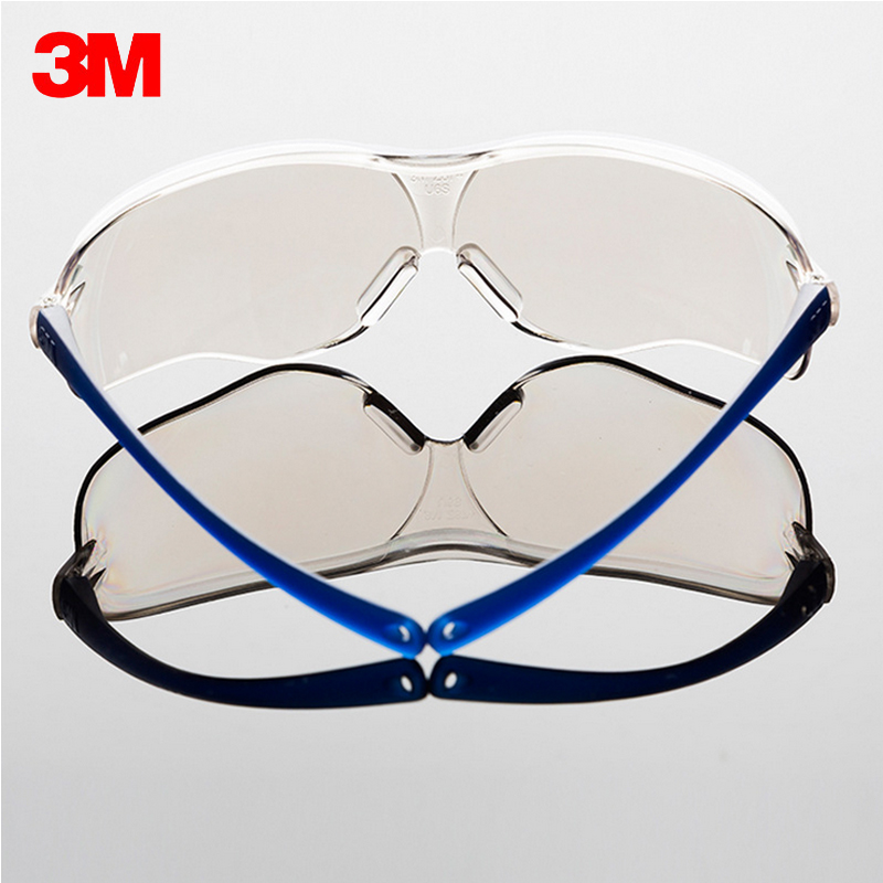 3M 10436 Safety Goggles Glasses Outdoor work Sports Bicycle Cycling Anti-UV Anti Shock Glasses Anti-dust anti Sunlight Resistant outdoor sports safety glasses anti impact work protective airsoft goggles cycling eyewear 2103