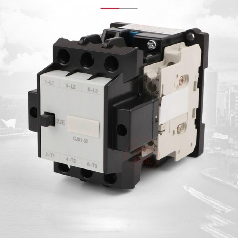 цена на AC contactor CJX1-32/22 silver point 380v 220v 110v 36v 24v 2NO+2NC