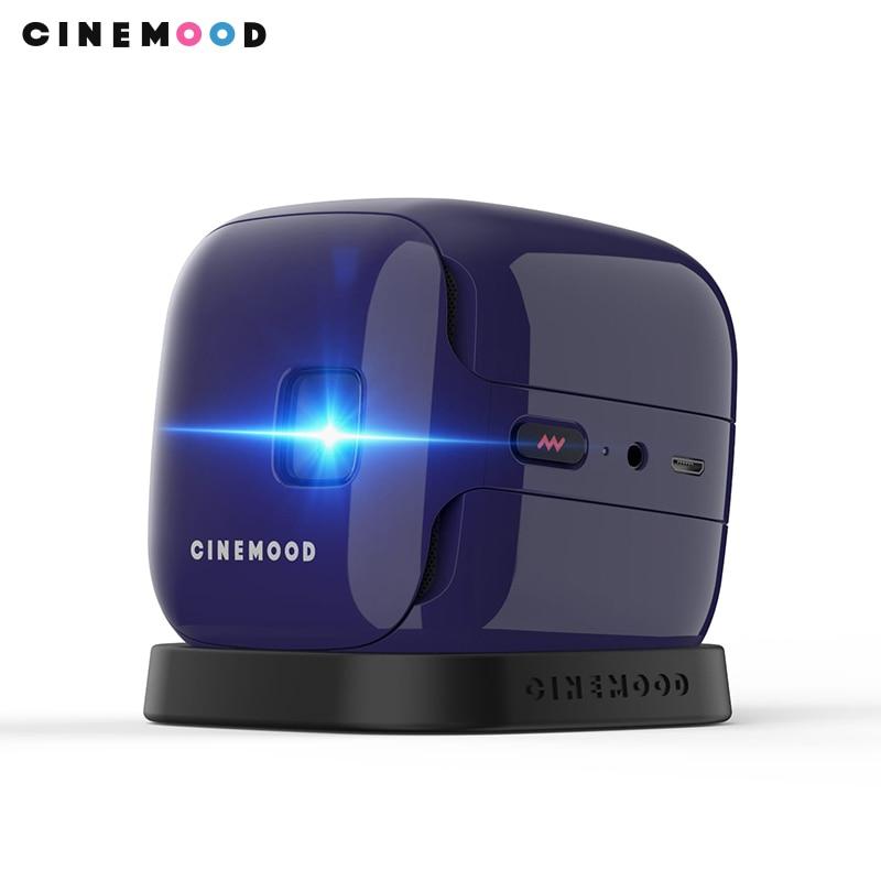 Wireless Portable Projector CINEMOOD kinokubik IVI