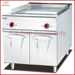 EH886D плоский Электрический гриль с шкаф питания оборудования
