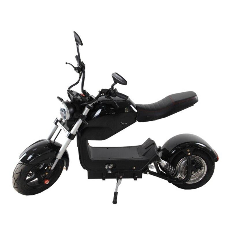 Ville Coco 2 adulte 60 V 1500 W forte ville puissante pour travailler shopping vélo électrique Harley voiture électrique Scooter Samokat