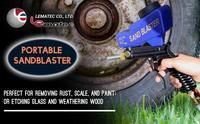 Пескоструйные пистолеты для чистки поверхностей от краски и ржавчины