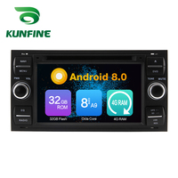 Octa Core 4GB RAM Android 8.0 Car DVD GPS Navigation Multimedia Player Car Stereo for Ford focus 1999 2008 Radio Headunit