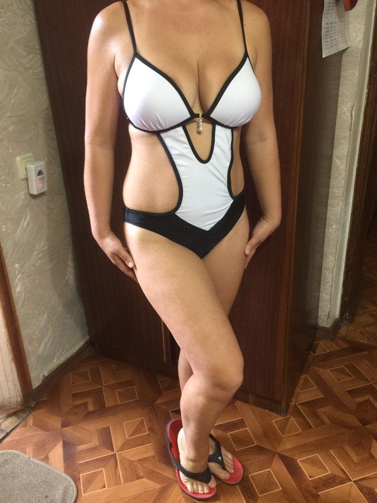 NAKIAEOI Sexy Thong One Piece Swimsuit 2019 Plus Size Swimwear Women Bathing Suit Swim Wear Monokini Beachwear Swimming S~XXL-in Body Suits from Sports & Entertainment on AliExpress