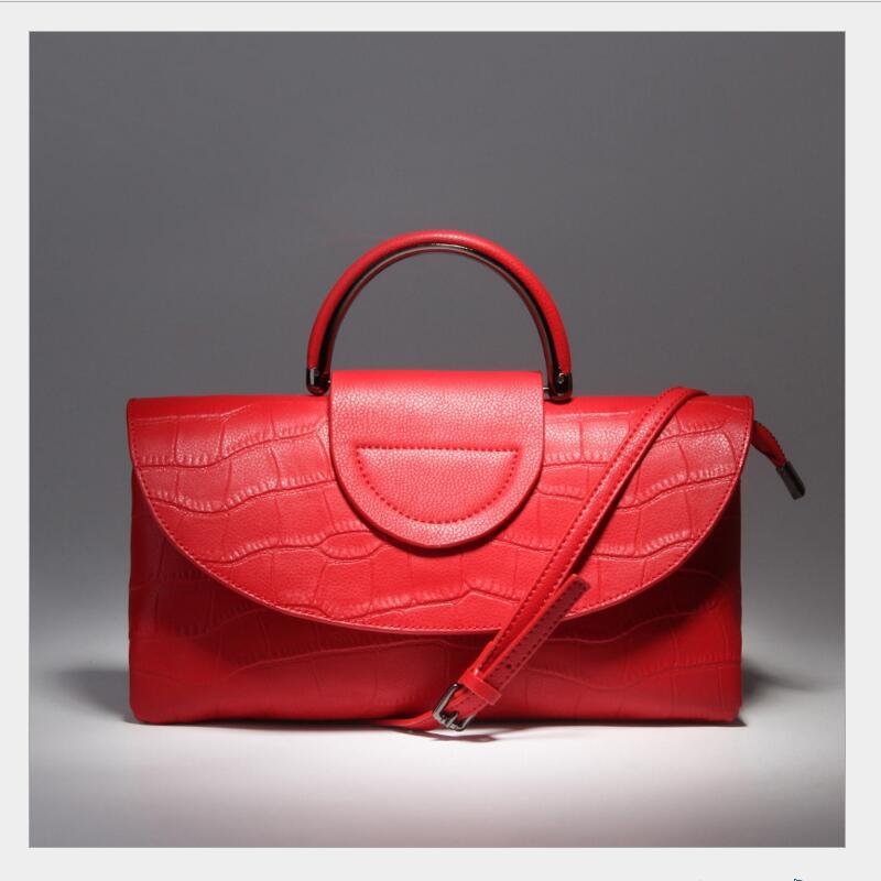 Japan Korea Stylish design ladies font b leather b font font b handbag b font high