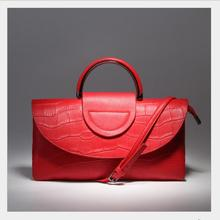 Japan Korea Stylish design, ladies leather handbag, high quality leather handbag, high-end atmosphere women's tide bag 051