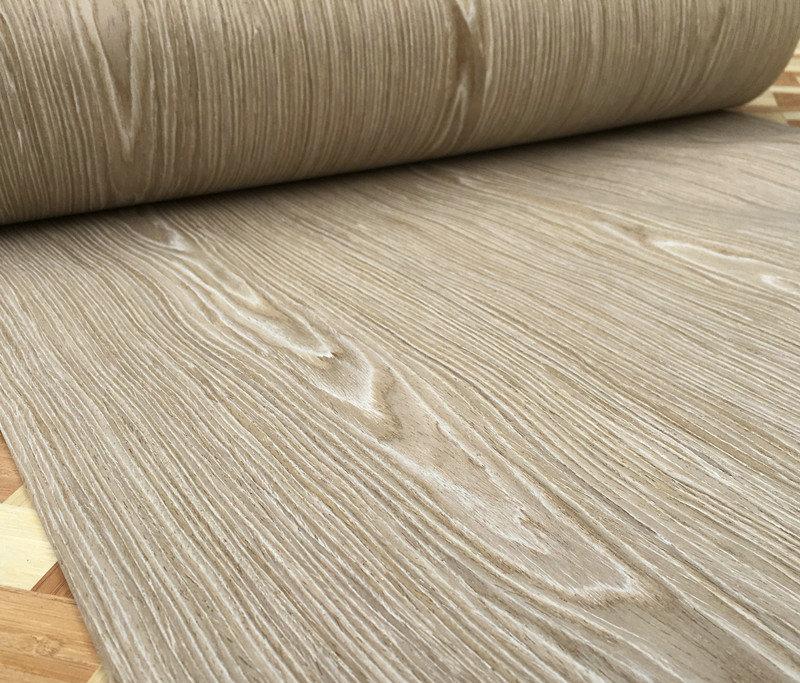 2x Artificial Veneer Technical Veneer Sliced Wood  Engineering Veneer E.V. 61 - 65cm x 2.5m Autumn Wood C/C Q/C