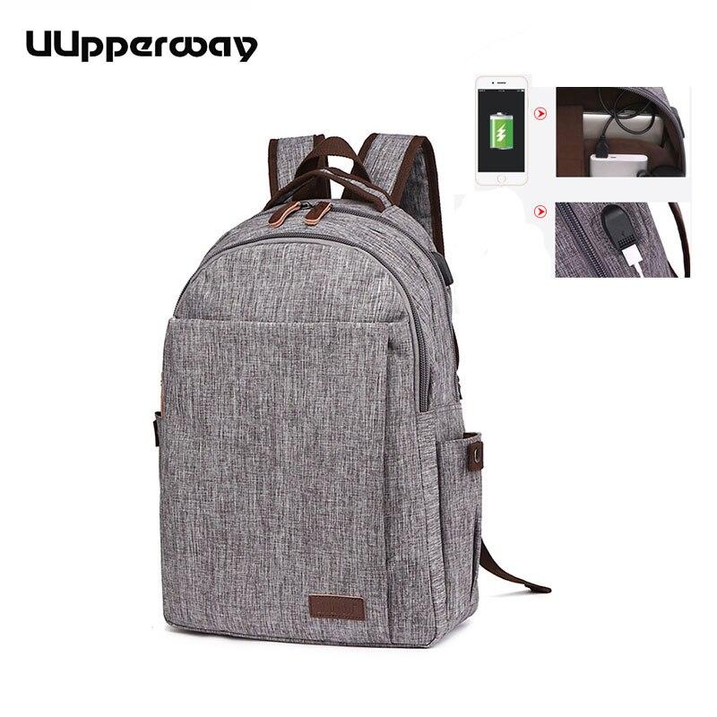 2018 homme sac à dos USB sac à dos pour ordinateurs portables d'entreprise sac à dos pour femmes hommes école sac à dos sac pour adolescents garçons filles voyage Mochila
