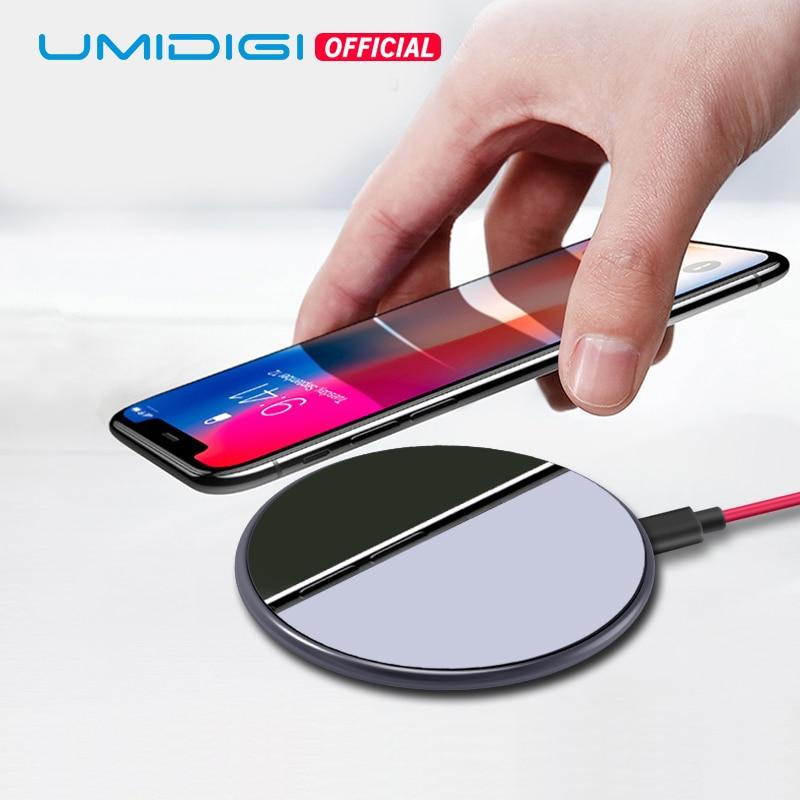 UMIDIGI Q1 15 w Più Veloce del Mondo di Caricatore Senza Fili per Z2 Pro Samsung Galaxy S9 S8 S7 iPhone 8/ x/8 Più Il Pad di Ricarica Wireless QI