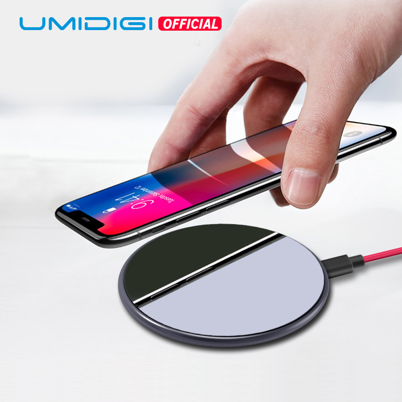 UMIDIGI Q1 15W World's Fastest Wireless Charger for Z2 Pro Samsung Galaxy S9 S8 S7 iPhone 8/X/8 Plus QI Wireless Charging Pad