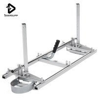 doersupp Portable Adjustable Chain Saw Chainsaw Mill 36 Planking Milling Bar Size 14 to 36 Planking Lumber Cutting Tool