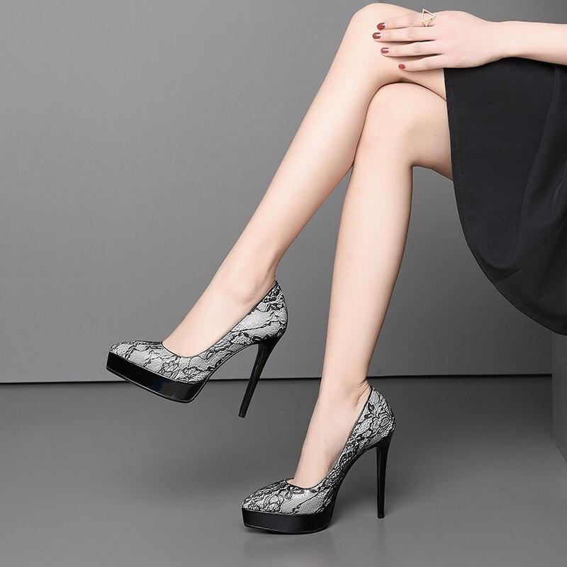 6311e2685b6 Mujer Mujer Boda verde 12 Tacones De Nuevos Zapatos Cm Talon Alta 2019  Talones Altos lavanda ...