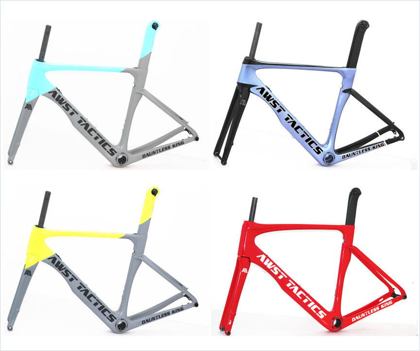 New Carbon Disc 700C Super Light Road Bike Carbon Frame 100*12 142*12mm Carbon Road Disc Bike Carbon Gravel Bike Frame