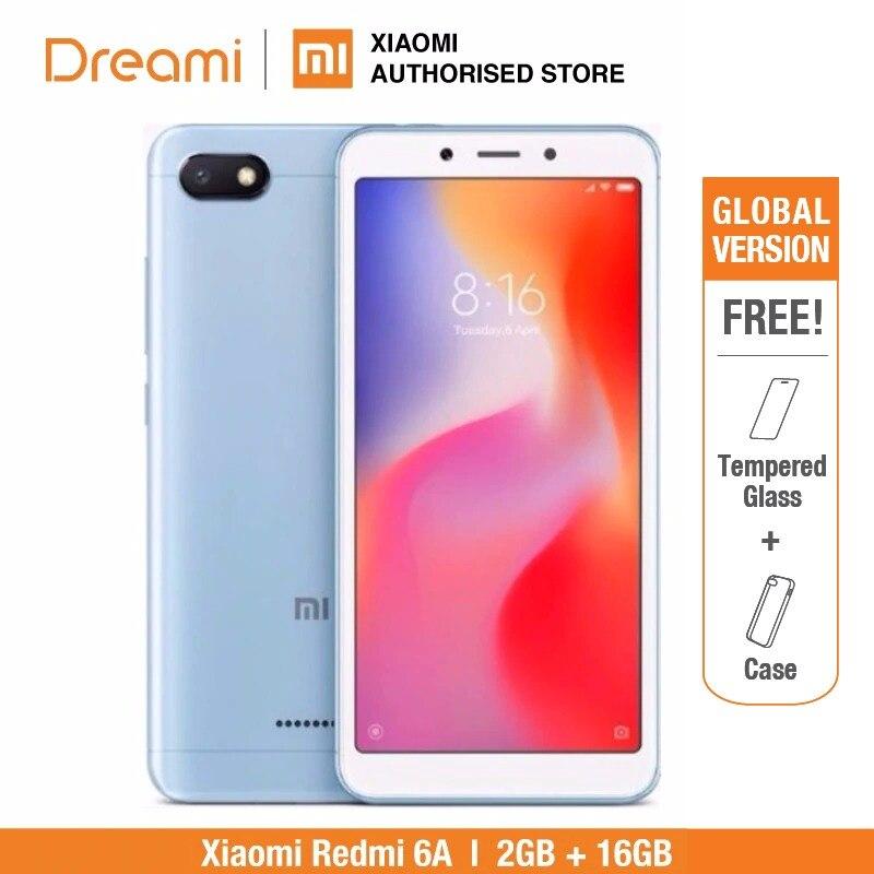 Глобальная версия Xiaomi Redmi 6A 16GB (Новый комплект и Запечатанная коробка)