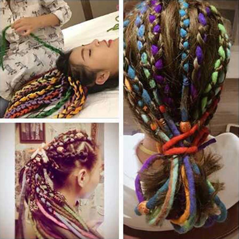 Snood Macrame Style Crocheted Hairnet Colorful Woman/'s Hair Costume Accessory