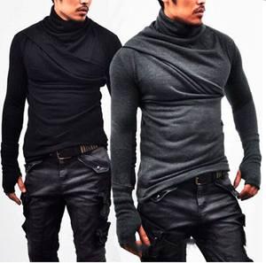 859dc5c6c0 PADEGAO t shirt long sleeve Casual T-Shirts tees men