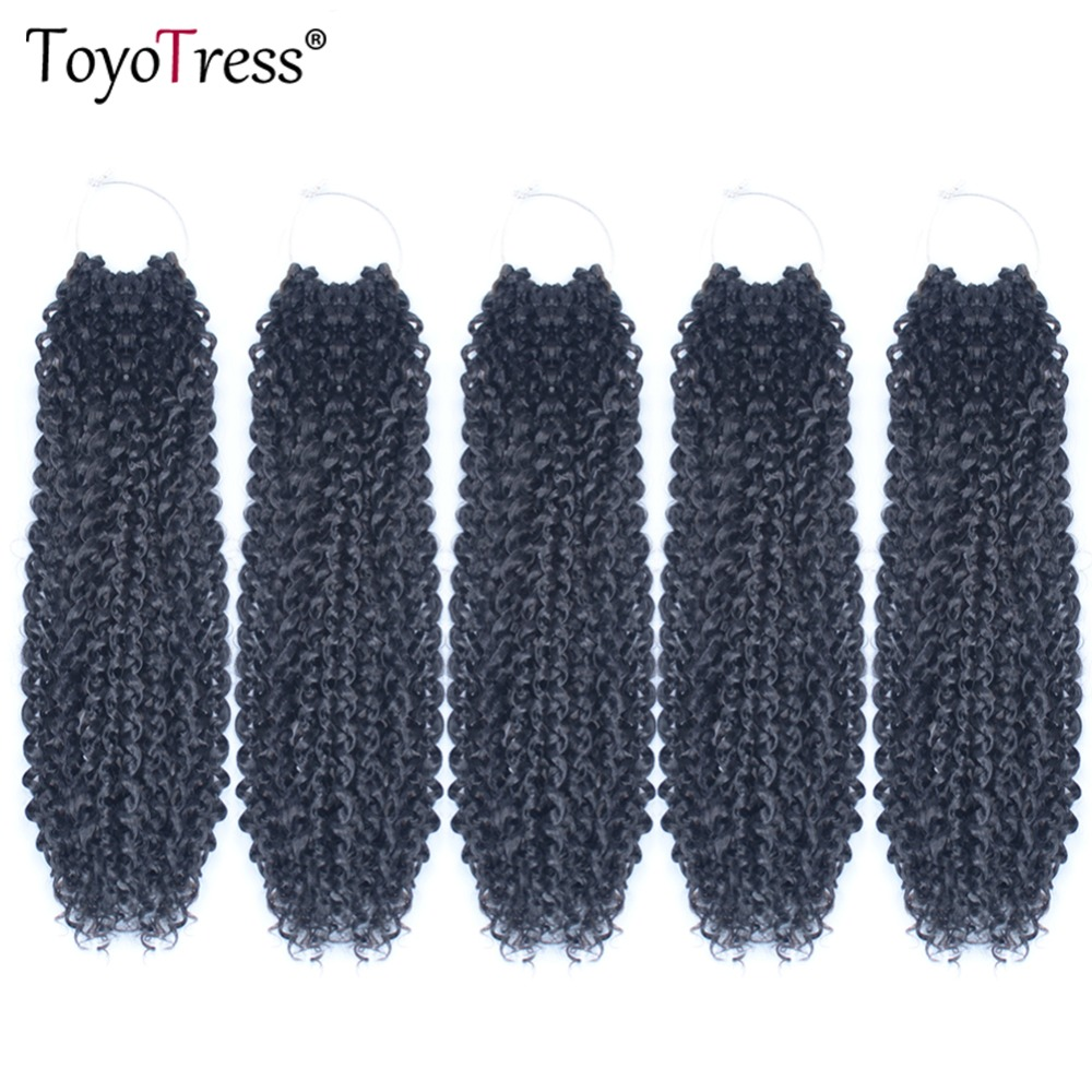 Passion Twist Crochet Braid Hair Extension 22strands Pack