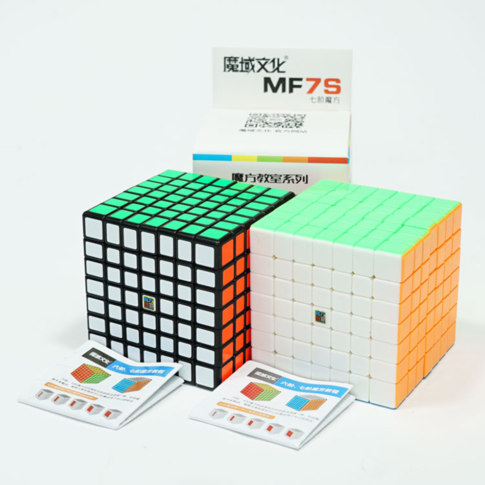 Magic Cubes Toys & Hobbies Diligent Original Moyu Cubing Classroom Mf7s 7x7 Magic Cube Black Stickerless 7x7 Magic Cube Speed Puzzle Special Gift Toys For Kids Toys Goods Of Every Description Are Available