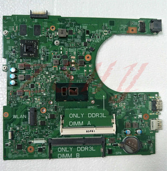 For DELL 3459 Laptop Motherboard CN-04M8WX 04M8WX 4M8WX i5 Processor PWBCPWW0 MainBoard Full Tested
