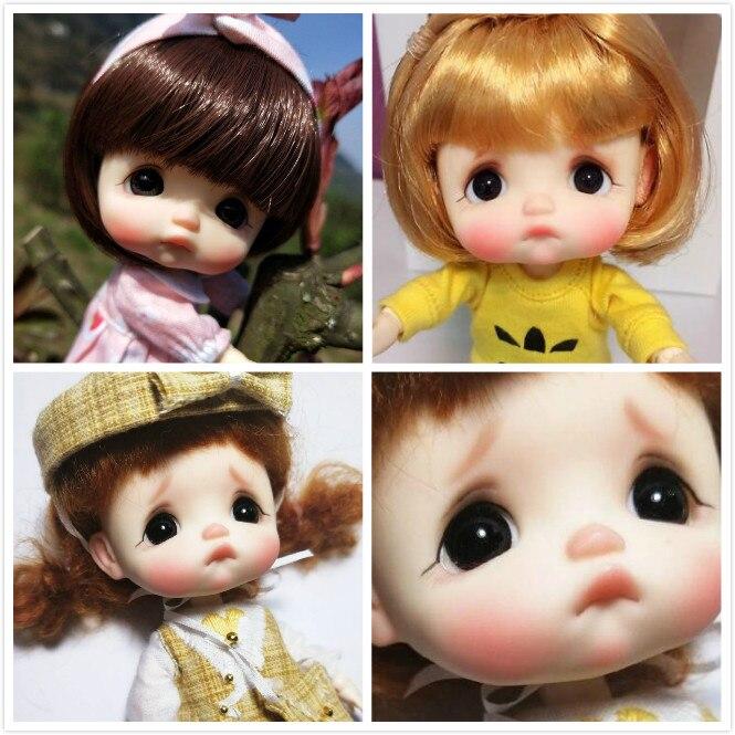 OB11 Handmade doll head customization OB doll head DIY Ob 11 doll head