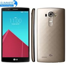 Original Used Unlocked LG G4 MobilePhone 3G RAM 32G ROM Hexa Core 16MP Camera  5.5 inch Touch Screen H815 H810 SmartPhone